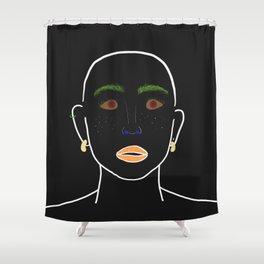 Fruity Judy Shower Curtain