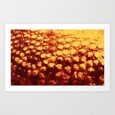 Croc Abstract V Art Print