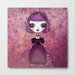 bella violeta Metal Print