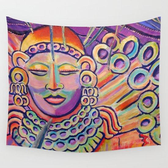 Colorful Zen Buddha meditating by wbdesigns