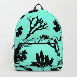 Seaweed Mint Green Pattern Backpack
