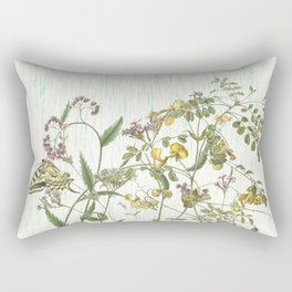 Cultivating my mind garden Rectangular Pillow