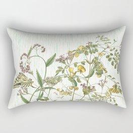 Cultivating my mind garden Rectangular Pillow