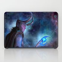 loki iPad Cases featuring Loki by Slugette