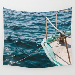 BOAT - WATER - SEA - PHOTOGRAPHY Wall Tapestry