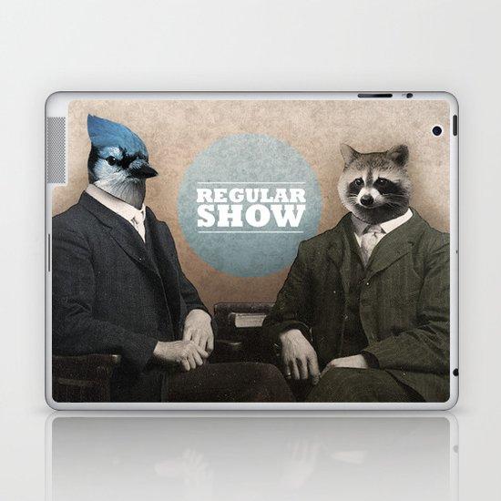 Mordecai & Rigby Laptop & iPad Skin