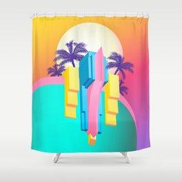 Pastel Paradise #007 Shower Curtain