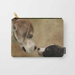 Nose To Nose Dogs Carry-All Pouch