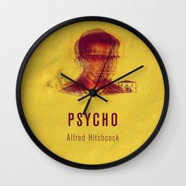 PSYCO - Hitchcok Poster Wall Clock