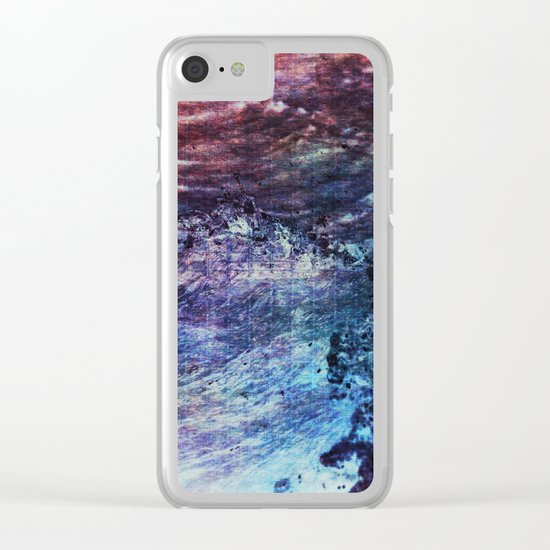 Waves I Clear iPhone Case