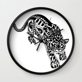 Señor Jaguar Wall Clock