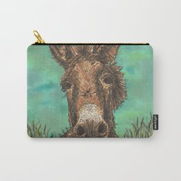 Little Brown Donkey Carry-All Pouch