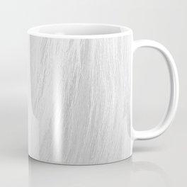 HORSE MANE: WHITE Coffee Mug