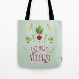 Eat more veggies! Light version Tote Bag