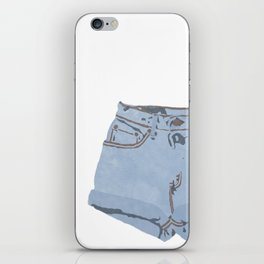 She Wears Short Shorts iPhone Skin