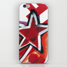 Grafitti Star iPhone & iPod Skin