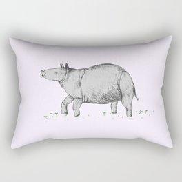 Rhino Calf Rectangular Pillow