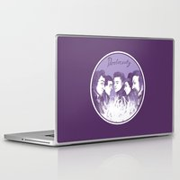 three of the possessed Laptop & iPad Skins featuring Dostoevsky The Possessed 1872 by Kisa's Lychee
