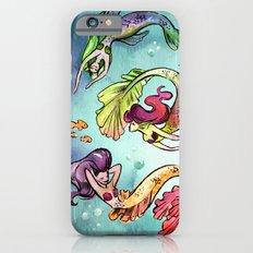 Watercolor Mermaids Slim Case iPhone 6s