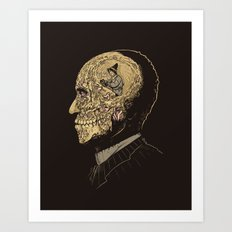 Why zombies want brains Art Print