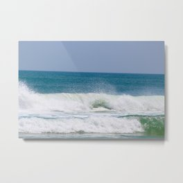 Shaping the Shoreline Metal Print