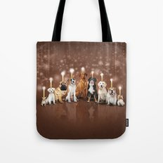 Hot Dog, It's Hanukkah! Tote Bag
