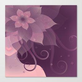 The Elegant Bride Canvas Print