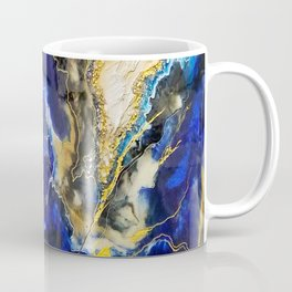 Blue Map Coffee Mug