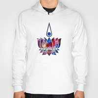 buddhism Hoodies featuring Lotus by Spooky Dooky
