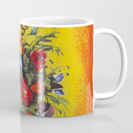 Flowers in the fire Coffee Mug