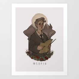 HP Two Moons : Remus Art Print