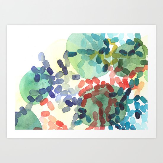 Variegated Culture II Art Print