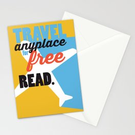 Travel - Just Read Stationery Cards