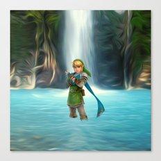 Adventure of Zelda Canvas Print
