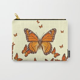 MONARCH BUTTERFLY SWARM Carry-All Pouch