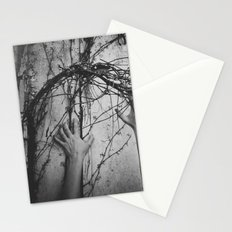 reaching, growing Stationery Cards