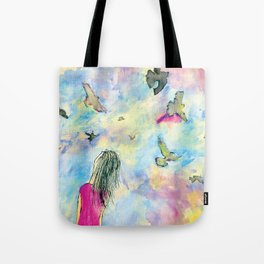 I wish I knew how it would feel to be free Tote Bag