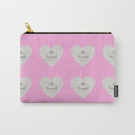 cupcake pink grey Carry-All Pouch