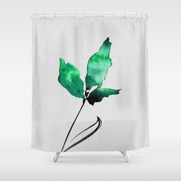 Floral Abstract No.2f by Kathy Morton Stanion Shower Curtain