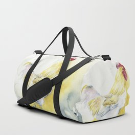 White Rooster Duffle Bag