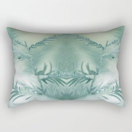 feathery leaves Rectangular Pillow