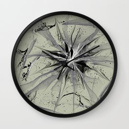 Cracked Childhood Wall Clock
