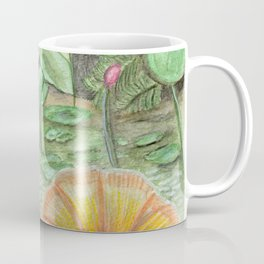 Waterlily Mermaid Coffee Mug