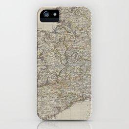 Vintage Map of Ireland (1804) iPhone Case