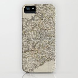 Vintage Map of Ireland (1804) iPhone Case
