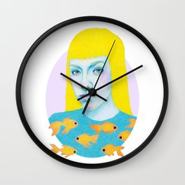 Something fishy Wall Clock