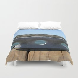 Dock Cleats Duvet Cover