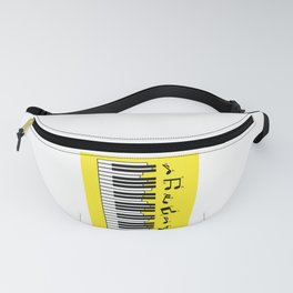 Proud Pianist Piano Lovers Wing Fanny Pack