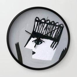 Strange groove Wall Clock