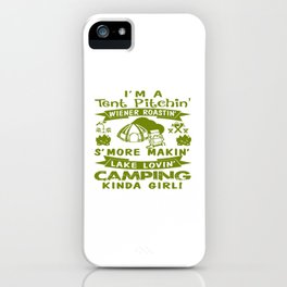 LOVE CAMPING iPhone Case